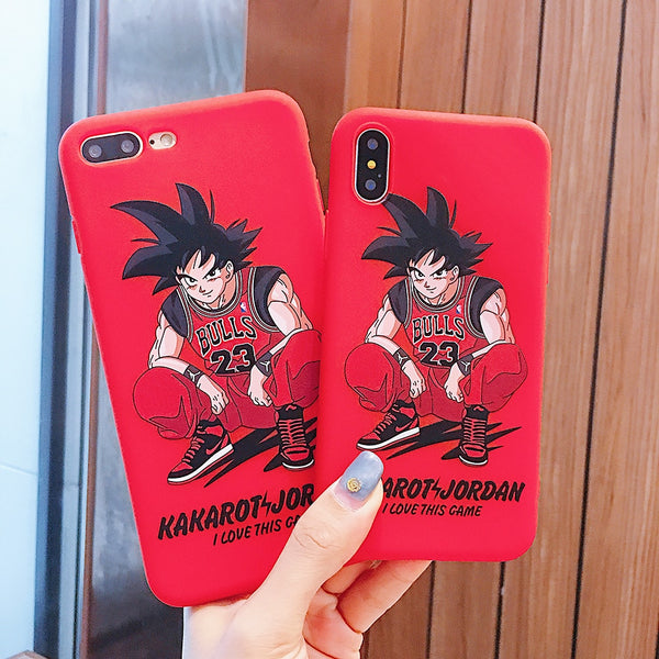 coque-iphone-dbz-jordan-dragon ball z-protection