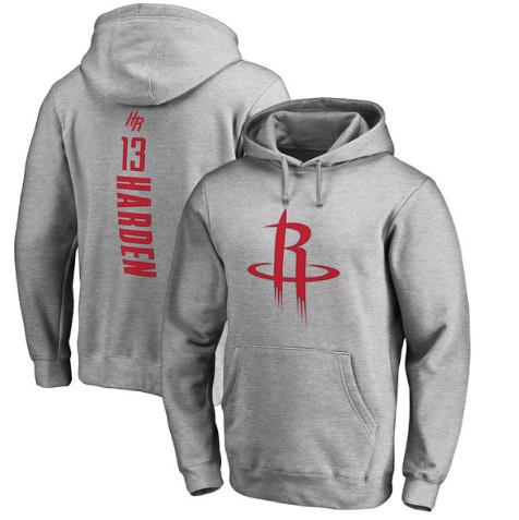 pull-hoodie-qualité-hiver-houston-harden-gris