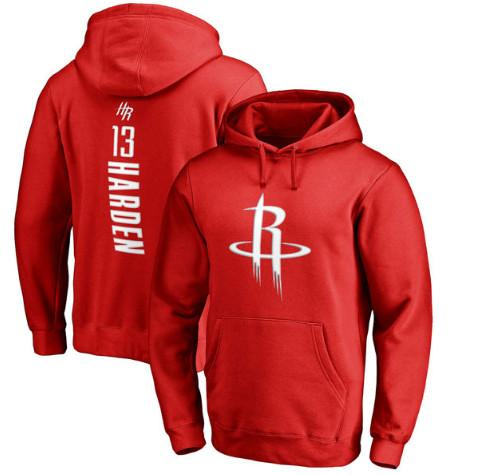 pull-hoodie-qualité-hiver-houston-harden-rouge