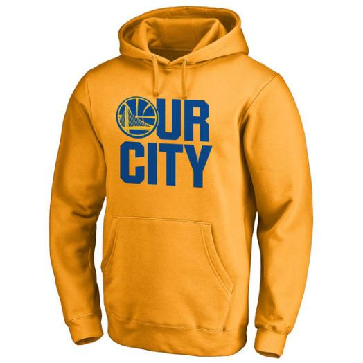 pull-hoodie-qualité-hiver-warriors-golden state-jaune-our city
