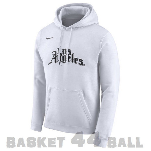 pull-los angeles-clippers-blanc-city-capuche-hoodie-nike