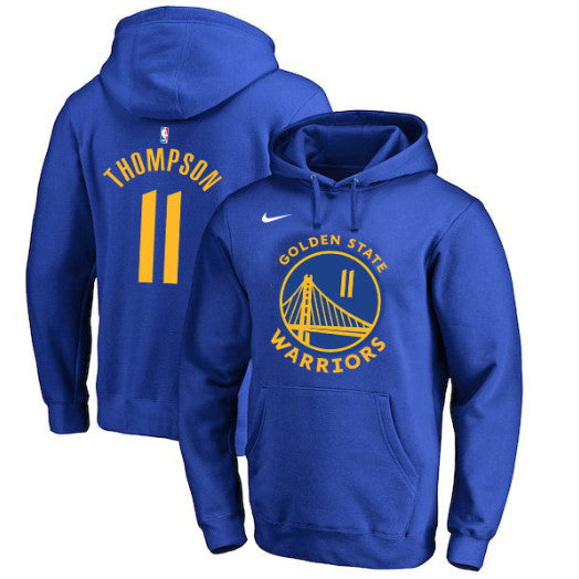 pull-thompson-warriors-bleu-capuche-hoodie-nike