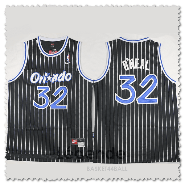 maillot-basket-o'neal-shaq-cousus-magic-noir