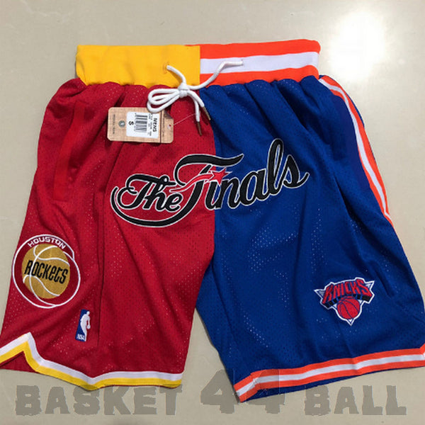 short-finals-nba-houston-knicks-brodé-poches-just don-vert-1994-finale