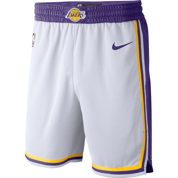 short-lakers-2018-2019-qualité-résistant-blanc