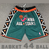 short-nba-all star game-1996-just don-asg-brodé-poches-vert