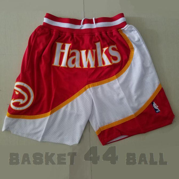 short-nba-atlanta-hawks-brodé-poches-just don