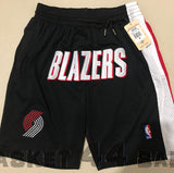 short-nba-blazers-portland-brodé-poches-just don