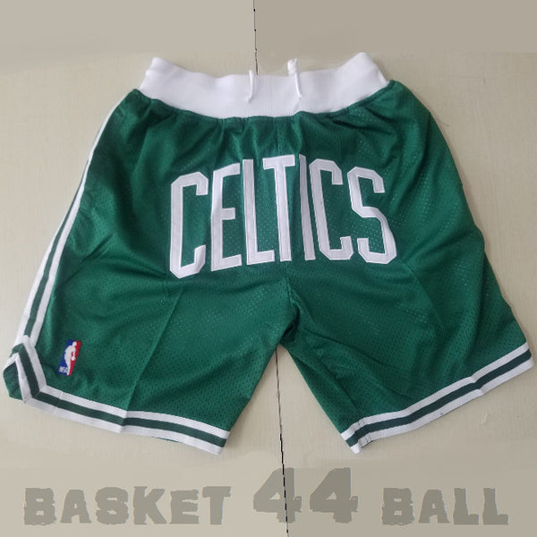 short-nba-boston-celtics-brodé-poches-just don-vert