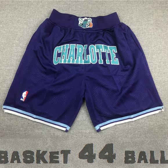 short-nba-charlotte-hornets-brodé-violet-poches-just don-2