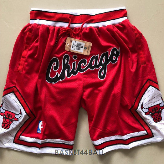 short-nba-chicago-bulls-brodé-poches-just don