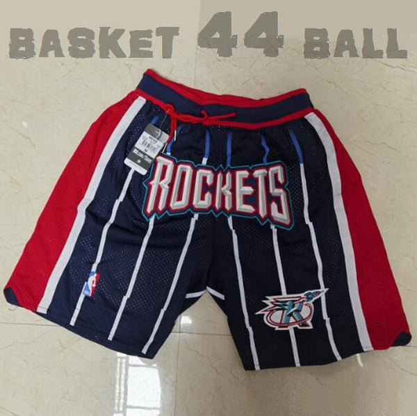 short-nba-houston-rockets-brodé-poches-just don-retro