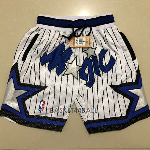 short-nba-orlando-magic-brodé-poches-just don