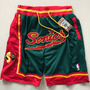 short-nba-seattle-supersonics-brodé-poches