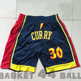 "Short ""WARRIORS We Believe"" (4 poches dont 2 zippées) CURRY"