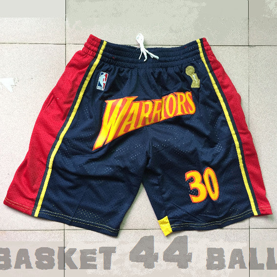 short-nba-warriors-brodé-poches-just don-curry