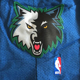 SHORT TIMBERWOLVES Throwback Bleu
