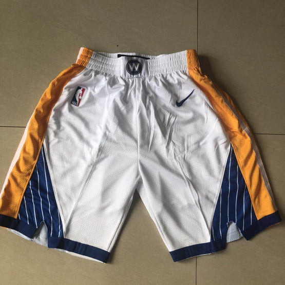 short-warriors-blanc-golden state-2019-enfant (1)