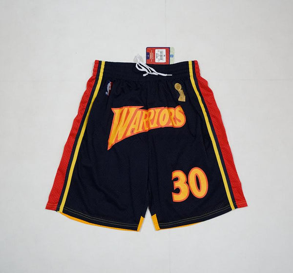 short-warriors-curry-nba-qualité-brodé