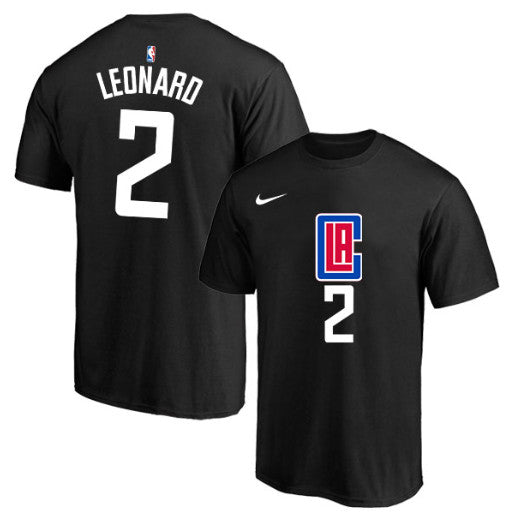 tshirt-LEONARD-kawhi-los angeles-clippers-2020-noir