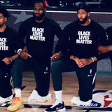 "Tshirt manches longues ""BLACK LIVES MATTER"""