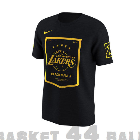 tshirt-kobe-lakers-noir-ecusson