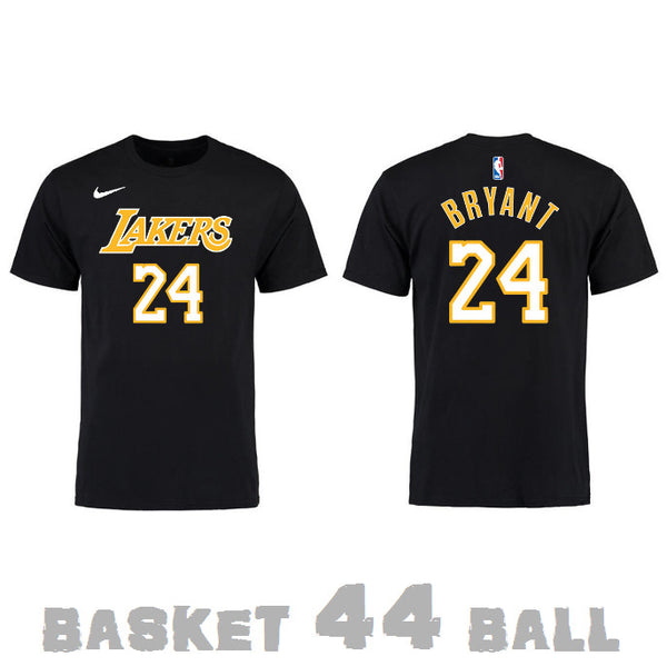 tshirt-old school-nba-kobe-lakers-noir-24