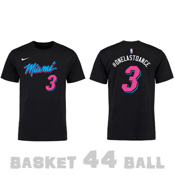 tshirt-one last dance-nba-wade-heat-noir-city
