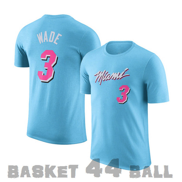 tshirt-wade-city-3-dwayne-miami-heat-bleu-city edition