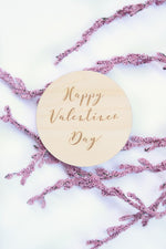 Happy Valentine's Day Card | Photo Prop