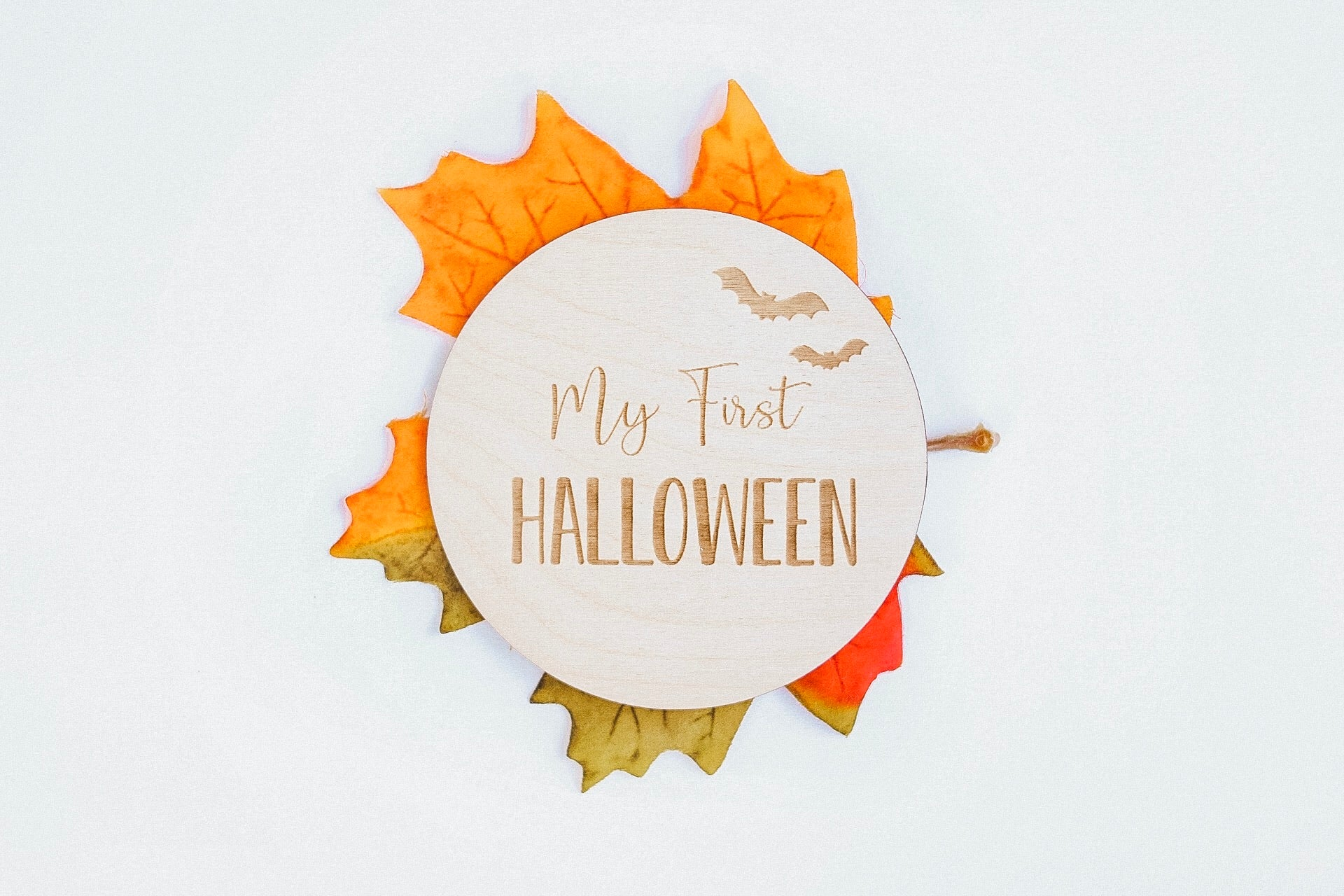 My First Halloween | Milestone Card