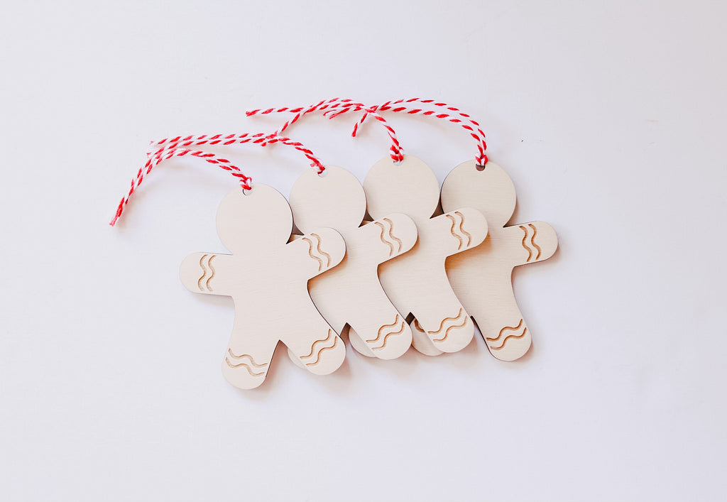 Gingerbread Men Tags