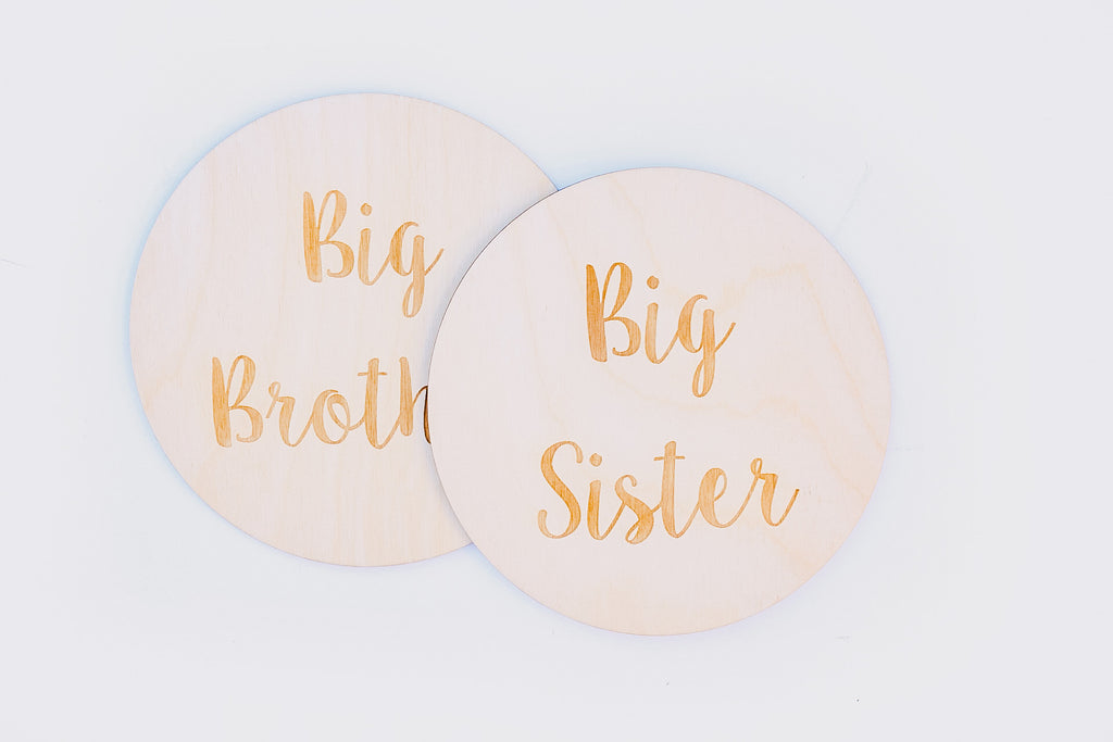 Big Sister/Brother Sign | Announcement