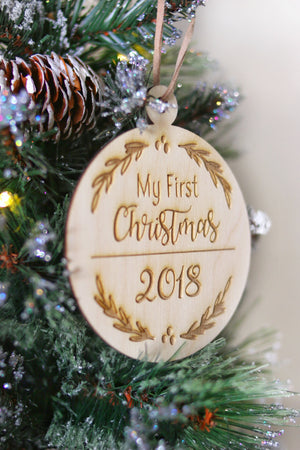 My First Christmas Ornament | Personalized