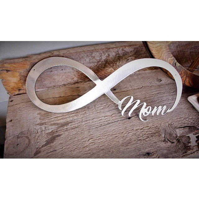 Forever a mom 'infinity sign' - Dear Baby Kay