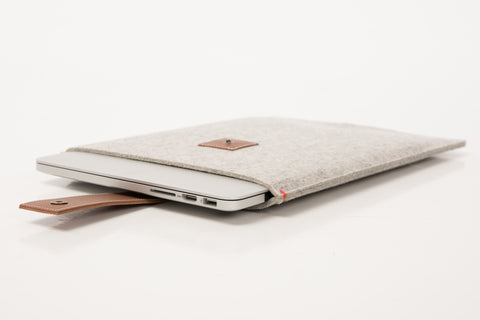 Felt MacBook Pro cases by westerman bags