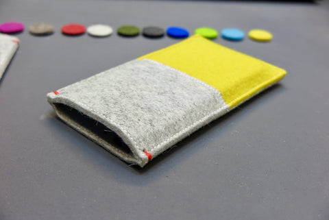 Fairphone 3 cover from the Netherlands made of wool felt