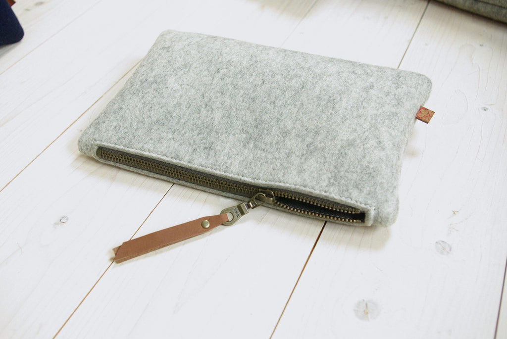 Minimalist pencil case etui met rits