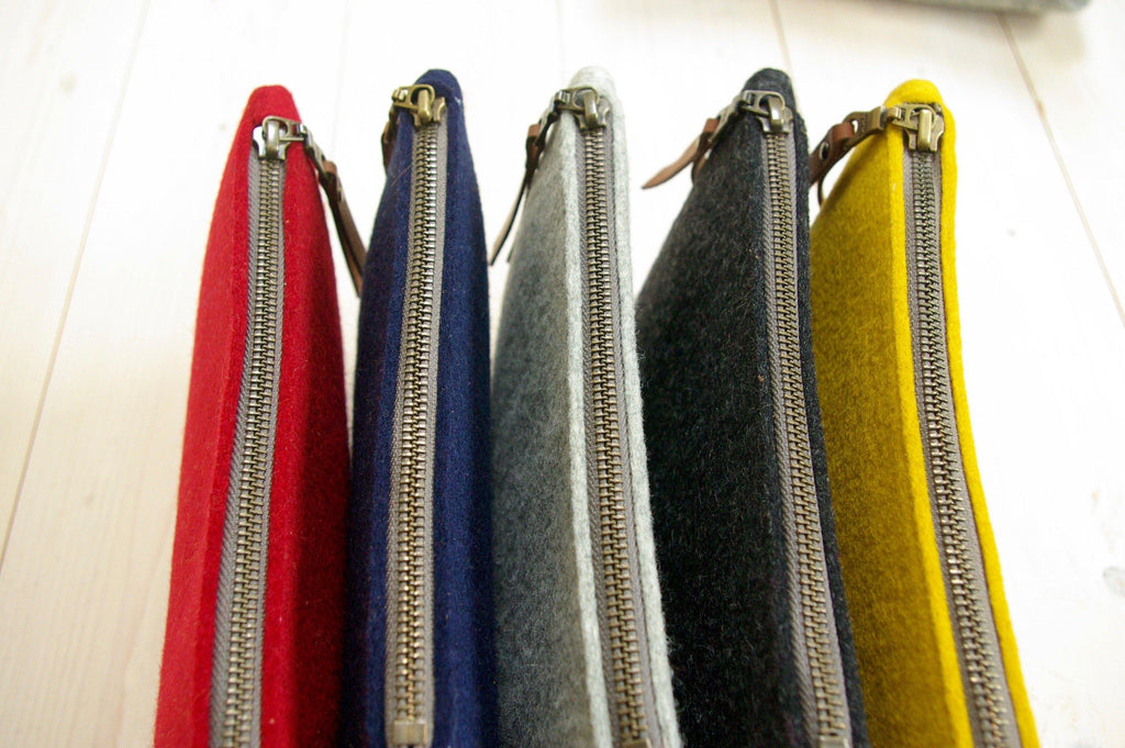 Accessory bags zipper from Westerman bags - colors