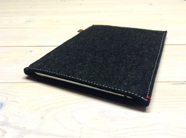 FUNCTIE serie - Zwart. Ipad Pro | Mini | Air - Westerman Bags vilten tassen en hoezen. Dutch Design.