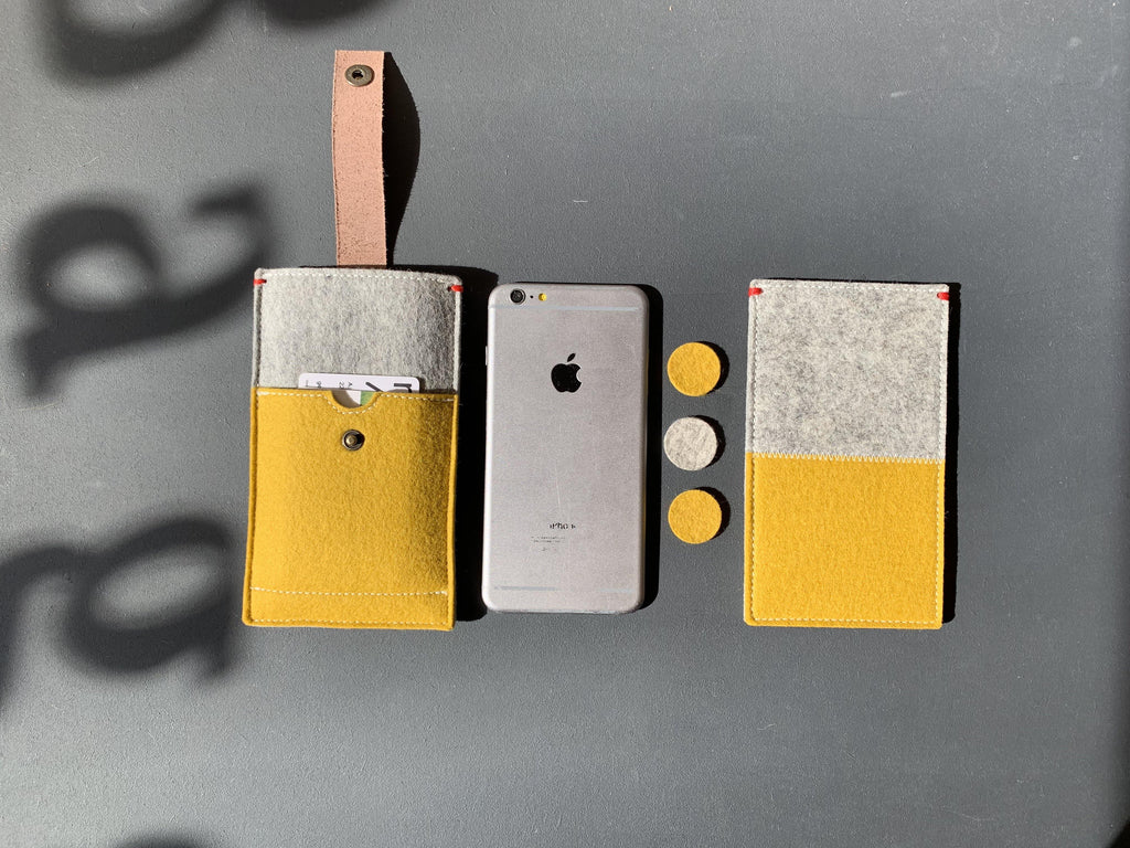 Wool felt cases collection for iPhone Xr and Xsmax