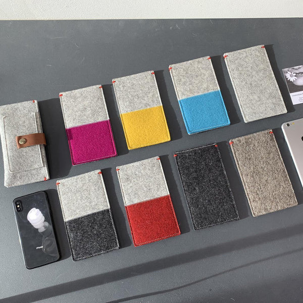 Fairphone 3 hoesje vilt felt case