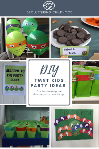 DIY TMNT Party Ideas on a Budget