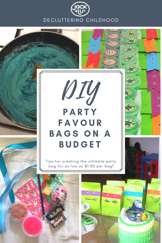 DIY Party Favour Bags for Kids Party on a Budget