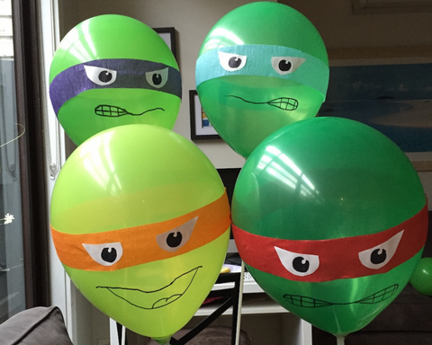 TMNT Balloons Party