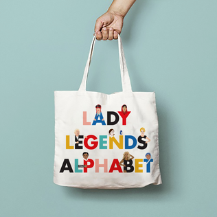 Lady Legends Tote Bag