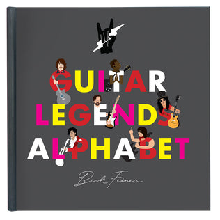 Guitar Legends Alphabet Book
