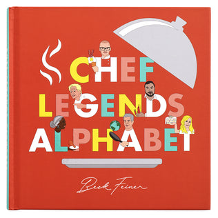 Chef Legends Alphabet Book