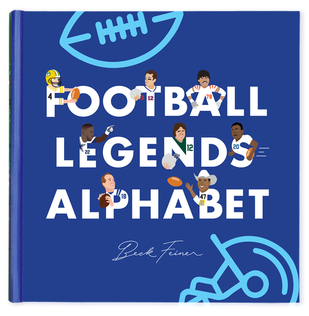 Football Legends Alphabet Book