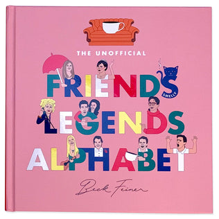 Friends Legends Alphabet Book